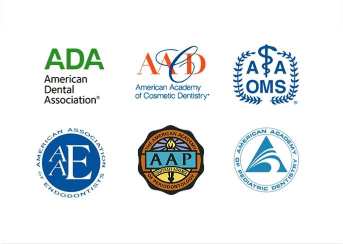 OC Dental Specialists Associated Logos