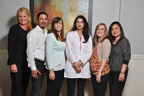 OC Dental Specialists office team