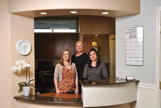 OC Dental Specialists office reception