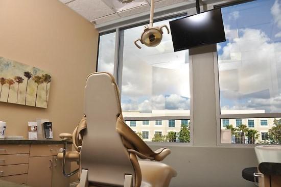 OC Dental Specialists Team Office examination room